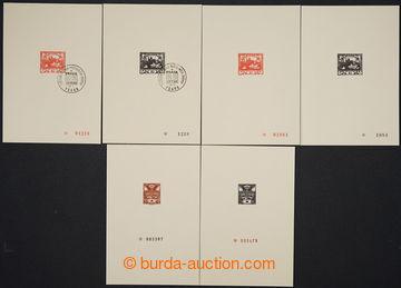 228592 - 1968 PT5A + PT5B, Hradčany 10h + dtto s PR PRAGA 1968 + PT1