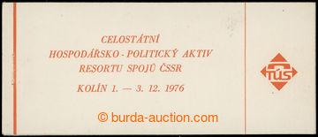 228605 - 1976 ZS5, Kolín 1976, 4Kčs s 20x Pof.2110xb; pro uchován�