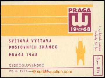 228628 - 1968 ZS2, PRAGA 1968 se zn. 5x Pof.1689; kompletní hledaný