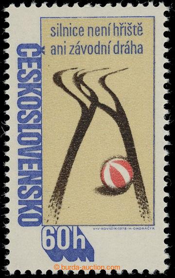 228666 - 1978 Pof.2303ya, Besip 60h, papír -fl1-; svěží, neporuš