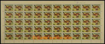 228668 - 1966 ARCHOVINA / Pof.1570 ST, Zajíc 80h, kompletní 50ks ti