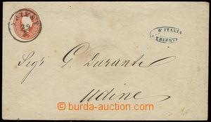 22872 - 1861 celinová obálka 5Kr (III.emise), Mi.U2A, DR Triest 29