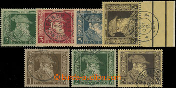 228741 - 1911 Mi.86II, 87I+ II, 88I, 89I, 90I+ II, Luitpold 1M-20M, I