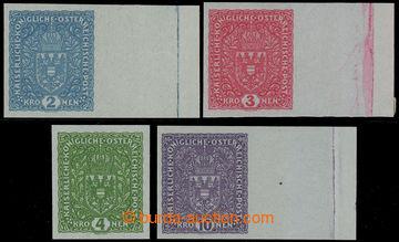 228746 - 1917 VÝPLATNÍ / VELKÝ FORMÁT / Znak 2K - 10K NEZOUBKOVAN