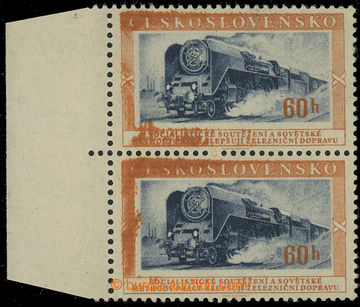 228859 - 1953 Pof.766 production flaw, Transport 60h, vertical pair w