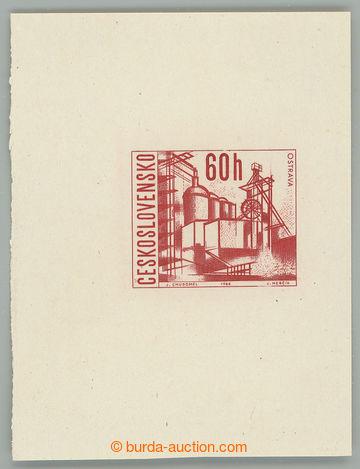 228912 - 1966 ZT  Pof.1565, Ostrava 60h, otisk původní rytiny v kar