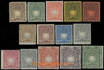 228969 - 1890 SG.4-19, Light and Liberty 1/2A- 5Rp; ikonická série