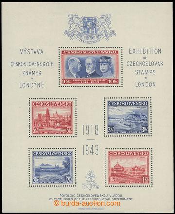 229018 - 1943 AS1, Londýnský aršík; luxusní