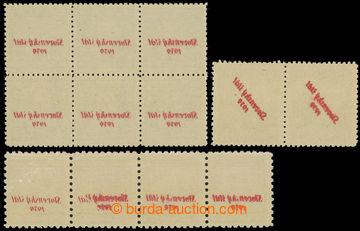 229069 - 1939 Sy.3 SOP, 7 SOP, 16 SOP, Znak 10h vodorovná 4-páska +