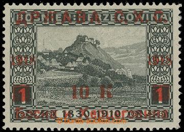 229115 - 1919 VYDÁNÍ PRO BOSNU A HERCEGOVINU / NEVYDANÁ / přetisk