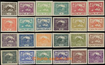229129 -  Pof.1-26, základní řada 24ks (bez Pof.6, 9 a 13), obsahu