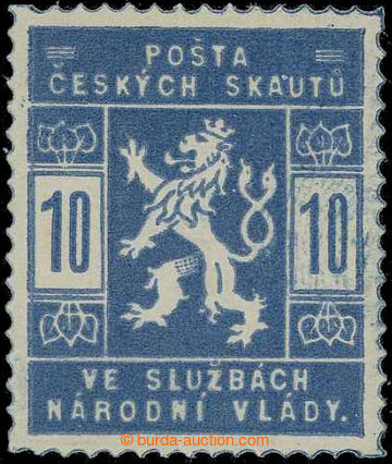 229254 -  Pof.SK1a, 10h světle modrá; svěží, zk. Vrba