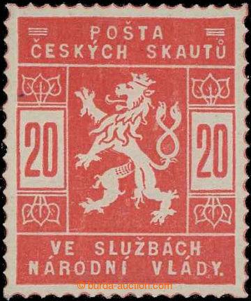 229255 -  Pof.SK2a, 20h světle červená; svěží, zk. Gi, Vrba a o