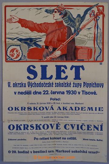 229311 - 1930 ČSR I. / Slet V. okrsku Východočeské sokolské žup