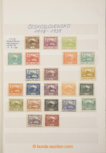229351 - 1918-1939 [SBÍRKY]  GENERÁLNÍ / sbírka v 16-listovém z�