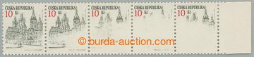 229465 - 1993 Pof.17 VV, Hradec Králové 10Kč s VV, vodorovná kraj