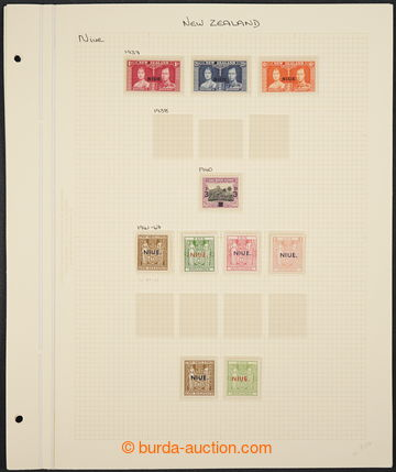 229497 - 1937-1950 [COLLECTIONS]  small collection on 3 sheets, conta