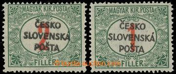 229635 - 1918 Pof.RV155, Žilinské vydání (Šrobárův přetisk),