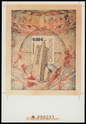 229671 - 2009 NEVYDANÝ aršík Kostel sv. Kříže Hamuliakove, s p�