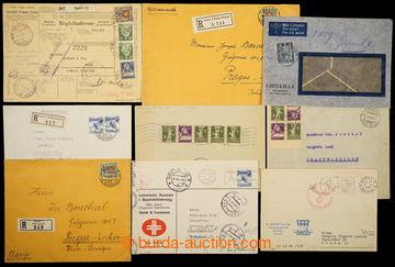 229675 - 1900-1942 sestava 12ks celistvostí adresovaných do ČSR, z