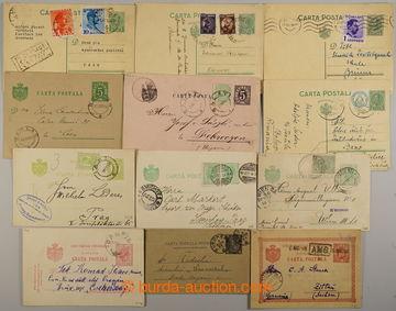 229676 - 1890-1939 sestava 11ks celinových dopisnic a 1 zálepky, p�