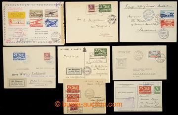 229722 - 1924-1944 sestava 8 Let-celistvostí, vybrané vzácnější