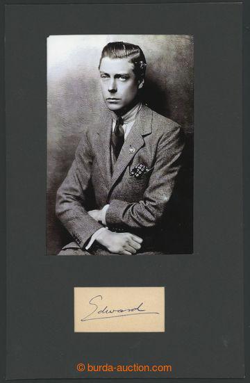 229796 -  EDUARD VIII. (1894-1972), britský král a císař Indie s
