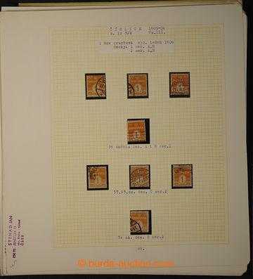 229837 - 1905 [SBÍRKY]  SPECIALIZACE / sbírka / akumulace známek e