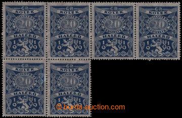 229955 - 1919 CZECHOSLOVAKIA 1918-39 / Pof.5B, 1. issue, documentary