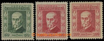 230027 -  Pof.176, 177, Jubilejní, hodnota 50h s průsvitkou P8, hod