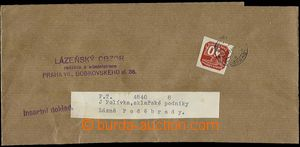 23090 - 1940 whole newspaper wrapper with 10h issue I, Pof.NV5, CDS