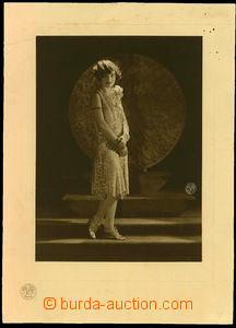 23122 - 1930 modish promotional photograph firm Balzar Prague - mode