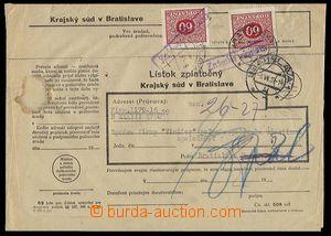 23180 - 1939 Postage due stmp - forerunner, returned court letter wi