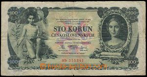 23208 - 1931 Czechoslovakia  100 CZK, 10.1.31, set Hb, quality 4.