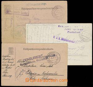 23283 - 1915 - 16 Kriegsspital / Sternthal /b, doplněno různými �