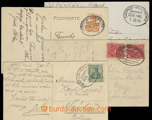 23294 - 1913 - 22 GERMANY  comp. 4 pcs of with cancel. VLP: Berlin -