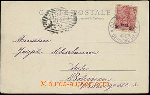 23300 - 1902 pohlednice vyfr. zn. Germania 10/20 Para s DR Constanti