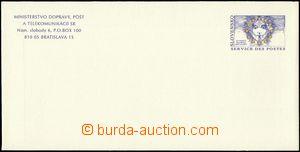 23408 - 1999 CSO 5, official envelope, superb. cat. 1800 SKK