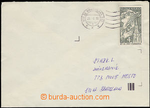 23425 - 1998 letter franked with. falešnou stamp. to defraud the pos