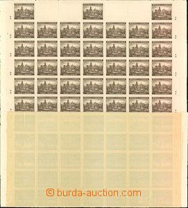 23489 - 1940 kompletní arch 20K II. Krajinky, Pof.49. Luxusní, pou