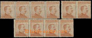 23634 - 1916 comp. 10 pcs of mint never hinged stamp. 20c orange, Mi