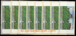23672 - 2000 Veveří  kompletní řada  vydání 8.1.2001, hodnoty