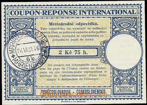 23695 - 1930 CMO2, 1x DR MARIÁNSKÉ LÁZNĚ 24.VI.31, luxusní stav