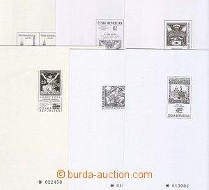 23745 - 1994 - 99 sestava 6 ks příležitostných tisků, PT1, 2a,