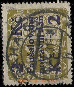 23805 - 1925 Food tax  2Kč/25h postage-due, Pof.PD2. cat. 230 CZK