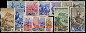 23812 - 1949 Krajinky Mi.409-422, kat. 250€