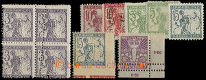 23819 - 1919 6 pcs of stamp. and 1x  block of four issue Chain Break