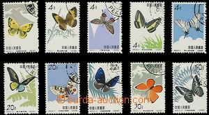 23824 - 1963 Mi.689-698, Butterflies, c.v.. 110€