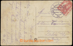 23828 - 1918 superb imprint of daily postmark Kolín 29.XII.18 (ned�