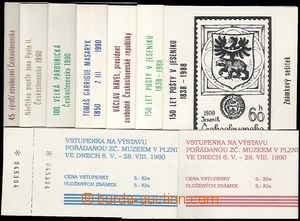 23925 - 1988 16 pcs of stamp booklets from y. 1988 - 1990, any other